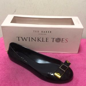 BNWOT Ted Baker Jelly Flats